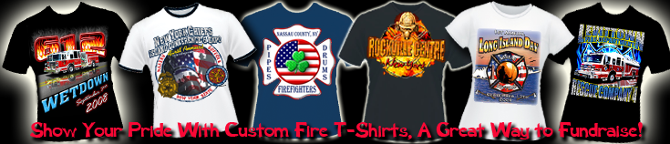 Custom Fire Department Clothing Workshirts Wetdown Shirts Patches